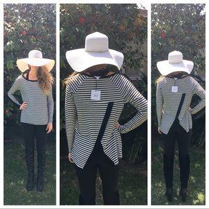 BNWT Jack by BB Dakota black/white sweater